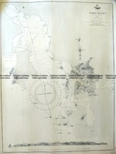 13-96  Tasmania - Navigation Chart of Port Davey  c.1852 (1903)