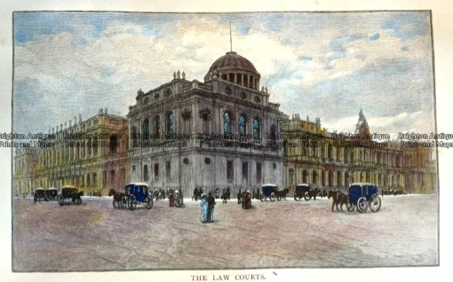 15-100  Melbourne Law Courts c.1886