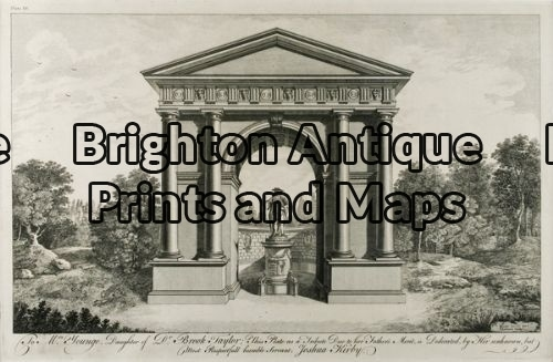 17-245 – Architecture J Kirby – circa 1761 Copperplate engraving 44cm X 27cm Condition A+
