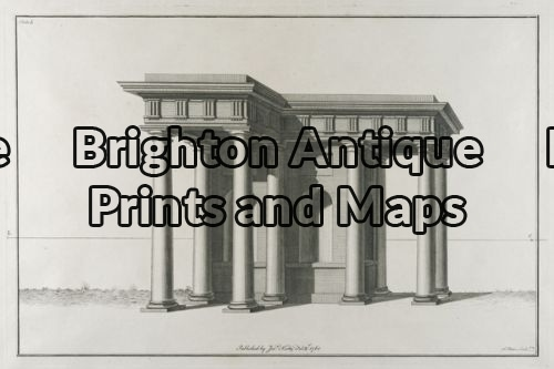 17-247 – Architecture – – J Kirby – circa 1761 – Copperplate engraving – 44cm X 29cm – Condition A+