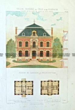17-261  Architecture - French  c.1870