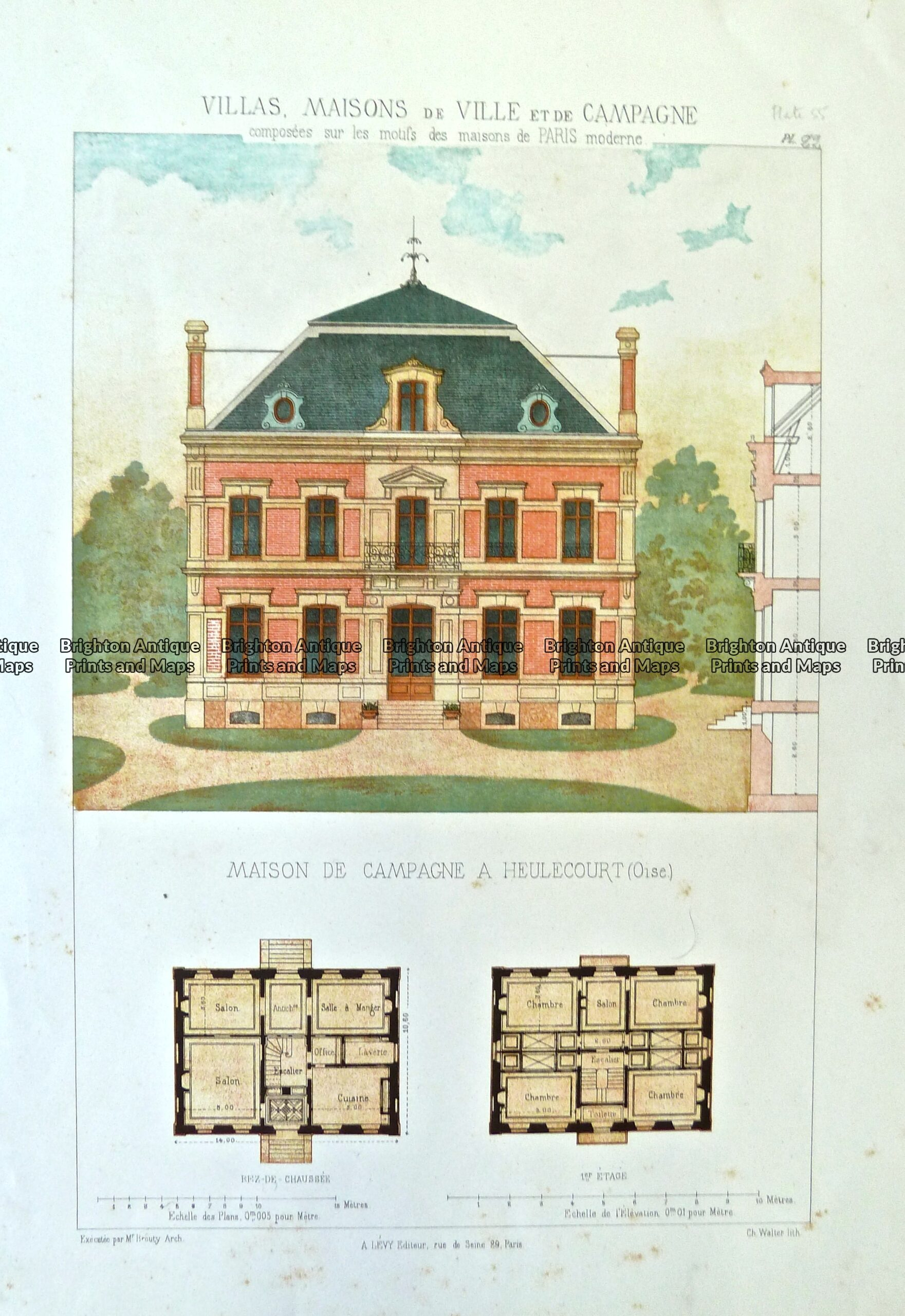 17-261  Architecture – French  c.1870