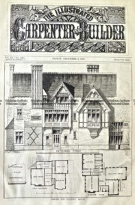 17-263  Architecture  - Floor plan  c.1881