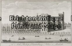 17-264 - Architecture - London B Cole - circa 1790 Copperplate engraving 36cm X 21cm Condition A+