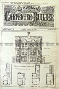17-265  Architecture - Floor plan  c.1895