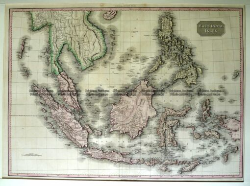 2-135  East India Isles by Pinkerton c.1815