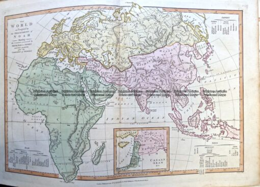 2-163  World in ancient times by Wilkinson c.1830
