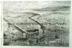 22 001 - New York City panorama c.1855