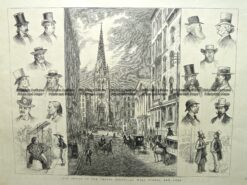 22-002  New York - Wall Street c.1877