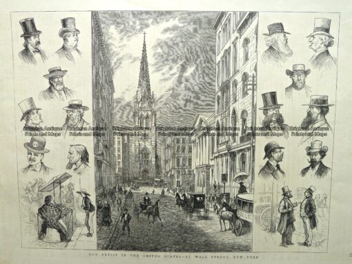 22-002  New York – Wall Street c.1877