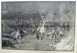 22-019  Dance of Crow Indians c.1885