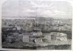 22-020  View of Washington and the Capitol c.1861