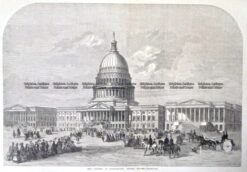 22-036  The Capitol at Washington c.1859