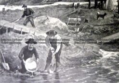 22-038  Panning for gold at Klondike