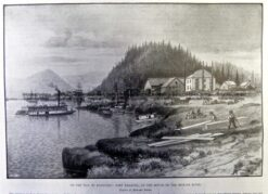 22-041  Klondike - Fort Wrangel at Stikine River c.1898
