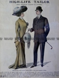 23-101   Fashion - men & women  c.1909