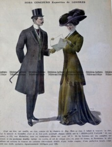 23-277   Fashion - Men & Women  c.1909