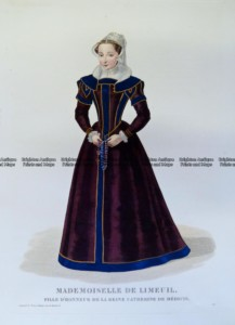 23-287 - Decorative - Fashion - Mademoiselle de Limeuil circa 1830