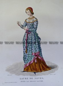 23-291 Fashion - Laure de Noves c.1830
