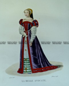23-296  Fashion - La Belle Avocate  c.1830