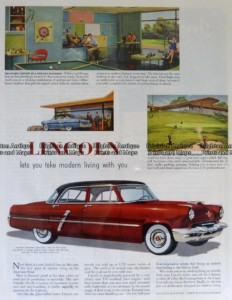 23-310 Lincoln car advertisement c.1959