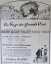 23-314  Advertisement in French for wine c.1927