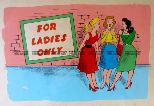 23-316 Humour – Original art work c.1950's