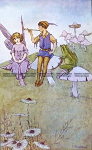23-324  Elves and Fairies by Outhwaite c.1916