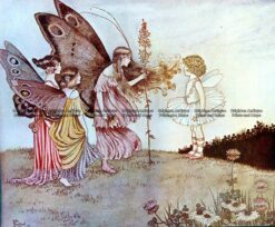 23-325  Elves and Fairies by Outhwaite c.1916