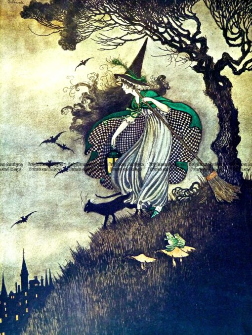 23-326  Elves and Fairies by Outhwaite c.1916