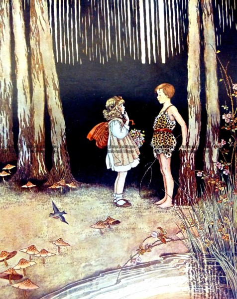 23-327  Elves and Fairies by Outhwaite c.1916