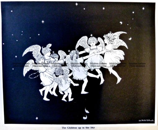 23-332  Elves and Fairies by Outhwaite c.1916
