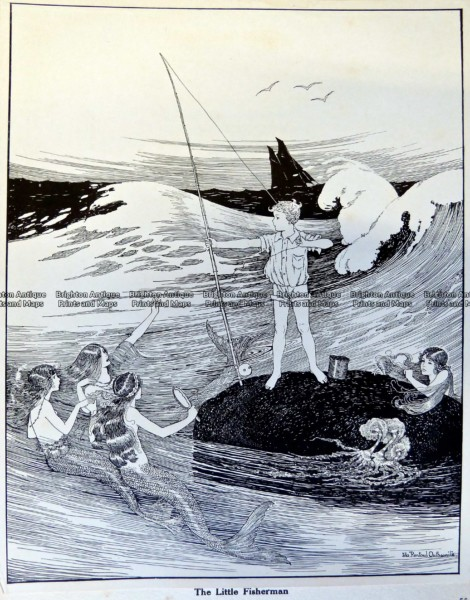23-334  Elves and Fairies by Outhwaite c.1916