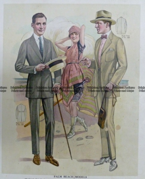 23-337  Men's fashion by Taylor c.1921
