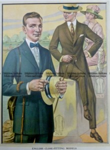 23-338  Men's fashion by Taylor c.1921