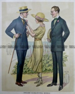 23-340  Men's fashion by Taylor c.1921