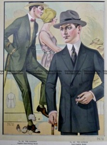 23-342  Men's fashion by Taylor c.1921