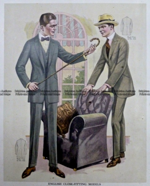 23-343  Men's fashion by Taylor c.1921