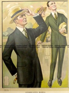 23-344  Men's fashion by Taylor c.1921