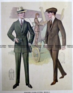 23-346  Men's fashion by Taylor c.1921
