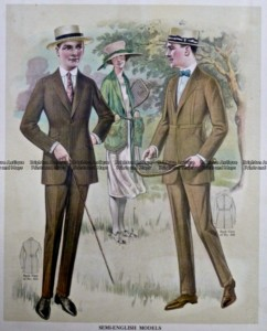 23-347  Men's fashion by Taylor c.1921