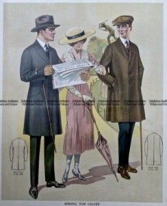 23-349  Men's fashion by Taylor c.1921