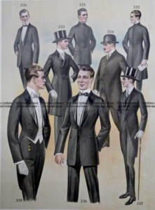 23-350  Men's fashion by Taylor c.1921