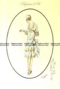 23-808  Art Deco fashion c.1923