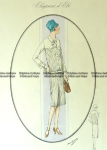 23-812  Art Deco fashion  c.1923