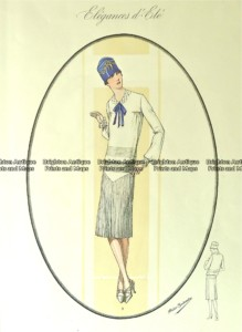 23-814  Art Deco fashion  c.1923