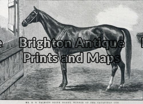 25-317 – Animal – Horse Racing Caulfield Cup F Sleap – circa 1884 Wood engraving 22cm X 15cm Condition A+