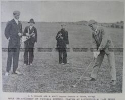 26-366  Golf at Royal Melbourne  c.1909