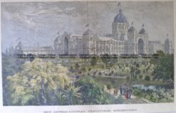 26-373  Melbourne Exhibition Building c.1880