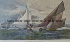 26-626  Yachting in Sydney  c. 1886